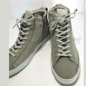 All Saints Shoes - All Saints grey high top sneakers